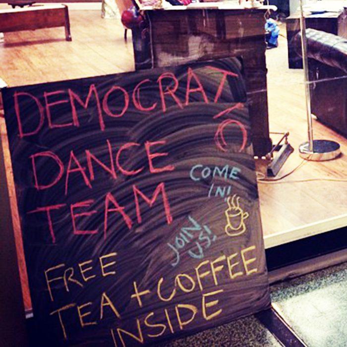 The Democratic Dance Team